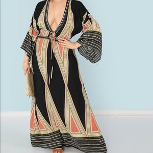 Dresses & Skirts - NWT Plus tribal maxi